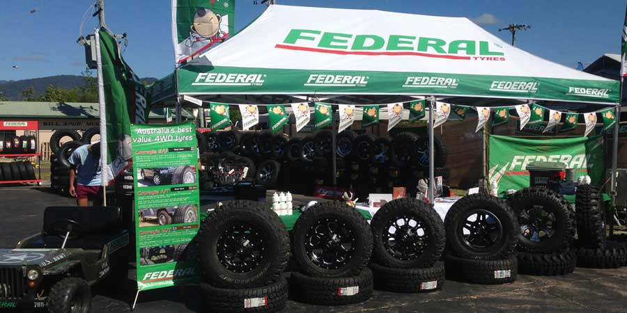 neta tyres at cairns show 2015